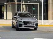 领克品牌最新旗舰SUV,领克09开启沙漠测试